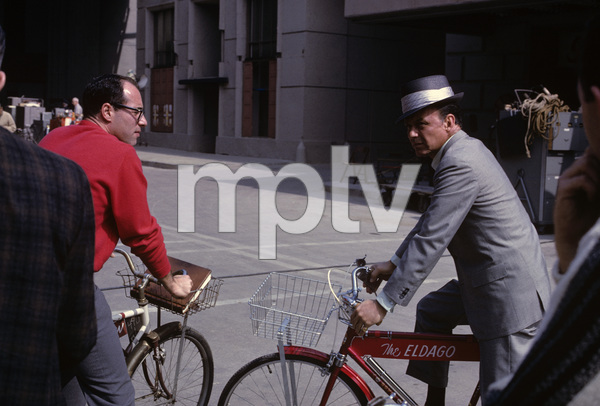 "Frank Sinatra on the Paramount backlot during the making of ""Come Blow Your Horn""1962© 1978 Ted Allan - Image 0337_2783"