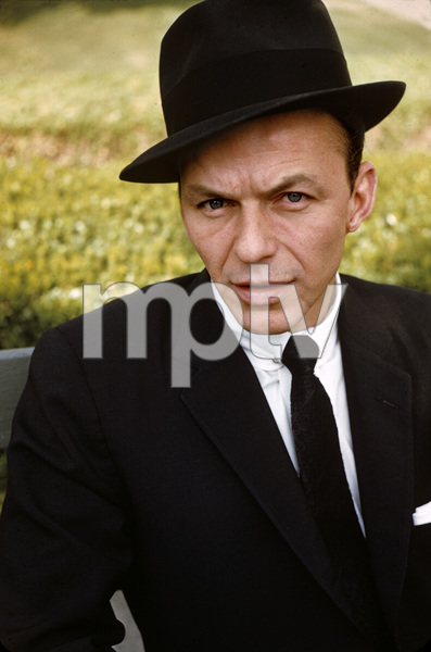 """Frank Sinatra after the recording session for """"The Man with the Golden Arm""""1955© 1978 Bob Willoughby - Image 0337_2793"""