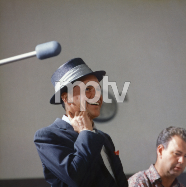 Frank Sinatra at a recording session in Los Angeles with Nelson Riddle1954 © 1978 Sid Avery - Image 0337_2807