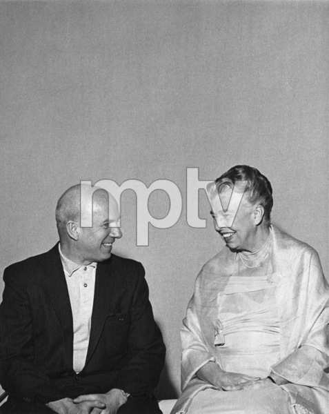 Jimmy Van Heusen and Eleanor Rooseveltcirca 1950s** A.H. - Image 0337_2869