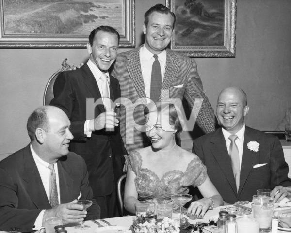 Frank Sinatra and Jimmy Van Heusen1954** A.H. - Image 0337_2870