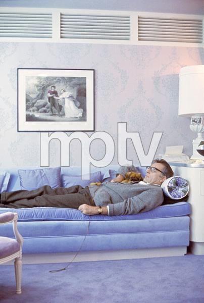 "Richard Burton during the making of ""Who"