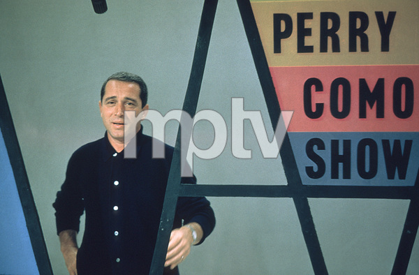 "Perry Como rehearsing for ""The Perry Como Show""on NBC / Sept. 1958. © 1978 George E. Joseph - Image 0505_0008"