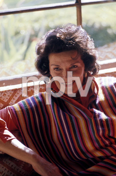 Jane Russell at homecirca 1960s © 1978 Gunther  - Image 0569_0434