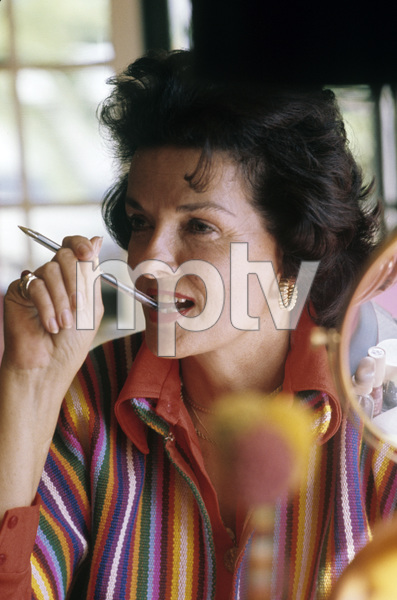 Jane Russell at home circa 1960s © 1978 Gunther  - Image 0569_0452