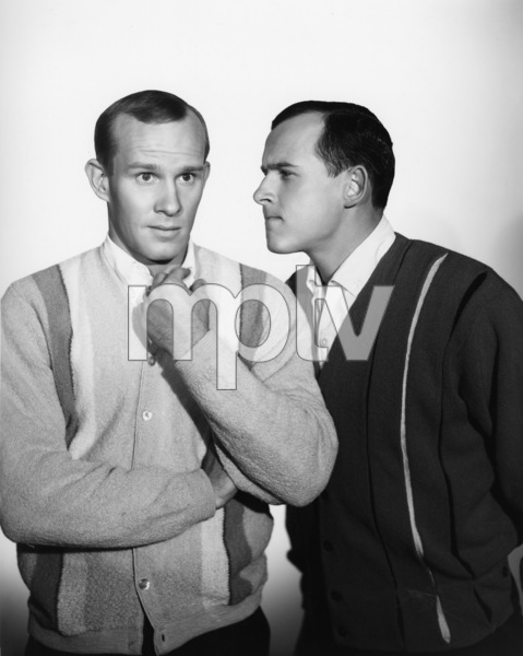 """""""The Smothers Brothers Show""""Tom Smothers, Dick Smotherscirca 1965Photo by Gabi Rona - Image 0572_0134"""