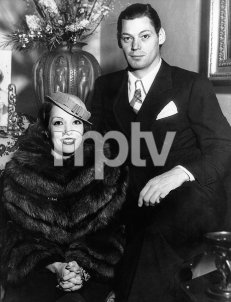 Johnny Weissmuller and Lupe Velez at the Mexican actress