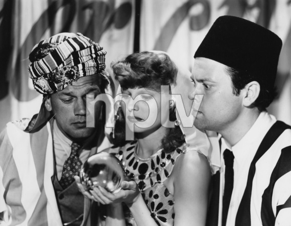 Joseph Cotten, Rita Hayworth and Orson Welles1944© 1978 John Engstead - Image 0580_0011
