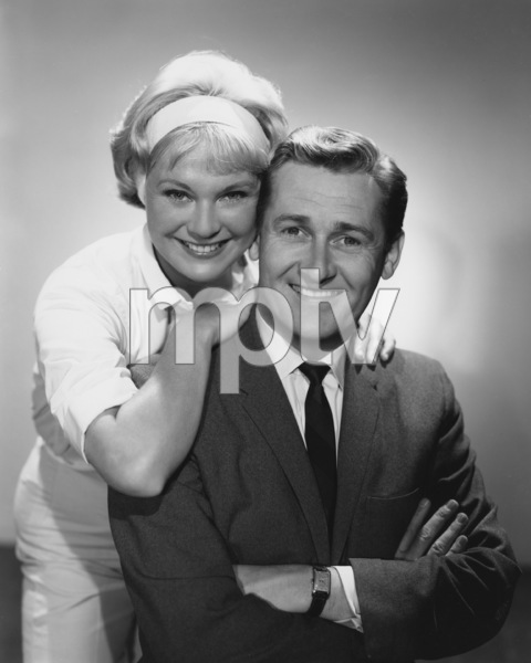 """Mister Ed"" Connie Hines, Alan Young circa 1963 Photo by Gabi Rona - Image 0582_0215"