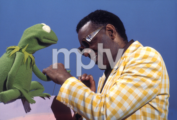 Ray charleswith kermit the frogon sesame streetcirca 1972photo by ray charles with kermit the frog on sesame street circa 1972 photo by gabi rona m4hsunfo