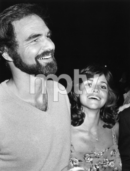 """Sally Field and Burt Reynolds at """"The End"""" partyJuly 1977© 1978 Gunther - Image 0603_0106"""