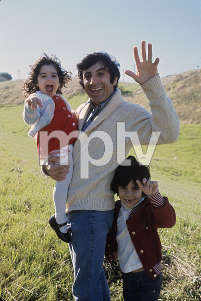 Jamie Farr with son Jonas and daughter Yvonne1974** H.L. - Image 0608_0029