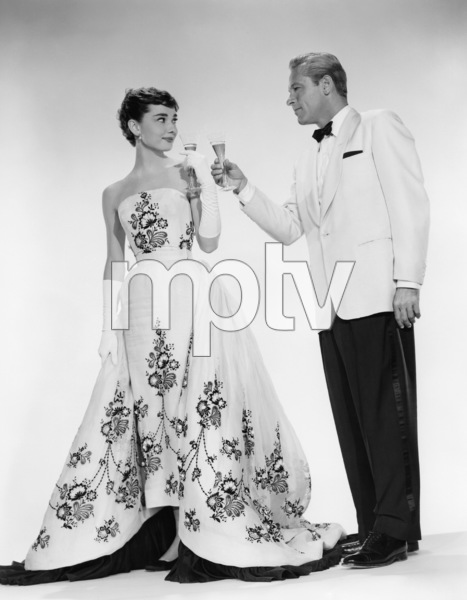 "Audrey Hepburn and William Holden from ""Sabrina""1954** I.V. - Image 0623_0181"