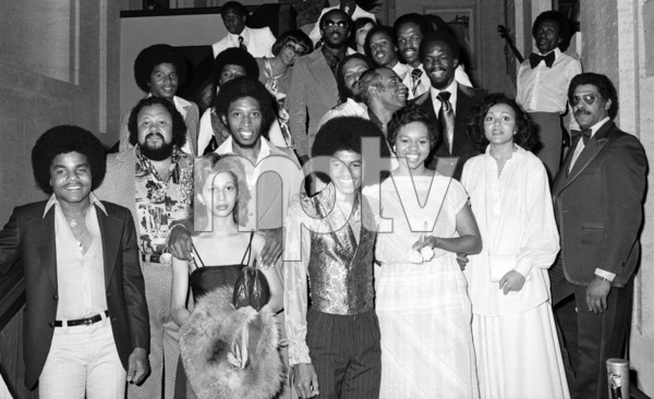 """CBS Records Black Music Convention""The Jacksons, Michael Jackson, Denise Williams, Jeffrey Osborne, Sherri Osborne, Mtume, Willie Bobo, The Fifth Dimension and Earth Wind & Fire1978 © 2009 Bobby Holland - Image 0628_0138"