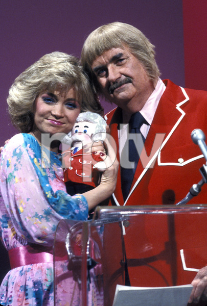 "Bob Keeshan""Captain Kangaroo"" & Barbara MandrellCirca.1980Photo By Gabi Rona - Image 0630_0006"