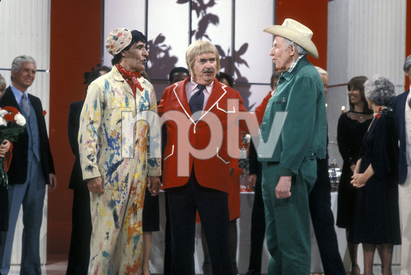 "Bob Keeshan""Captain Kangaroo"" & Hugh Brannum "" Mr. Green Jeans""Circa. 1979Photo By Gabi Rona - Image 0630_0013"