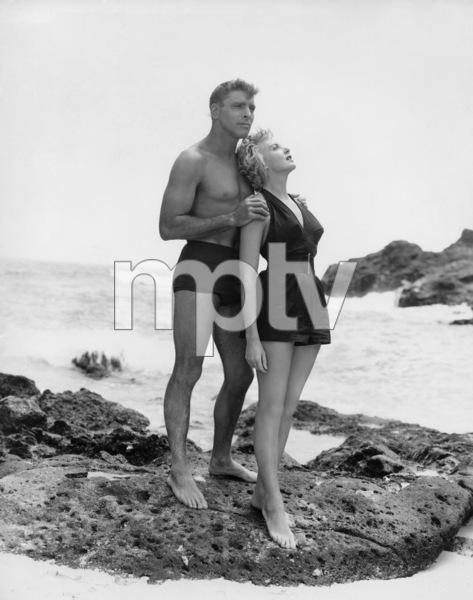 """""""From Here to Eternity""""Burt Lancaster, Deborah Kerr1953** I.V. - Image 0632_0144"""