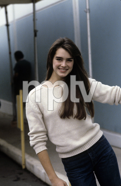 Brooke Shields at rehearsal for a Bob Hope special1981© 1981 Gunther - Image 0656_0160