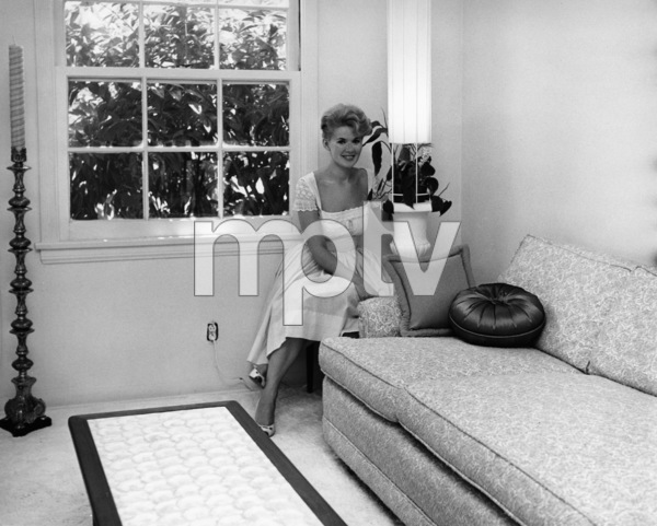Connie Stevens in her living roomcirca 1960sPhoto by Joe Shere - Image 0658_0159