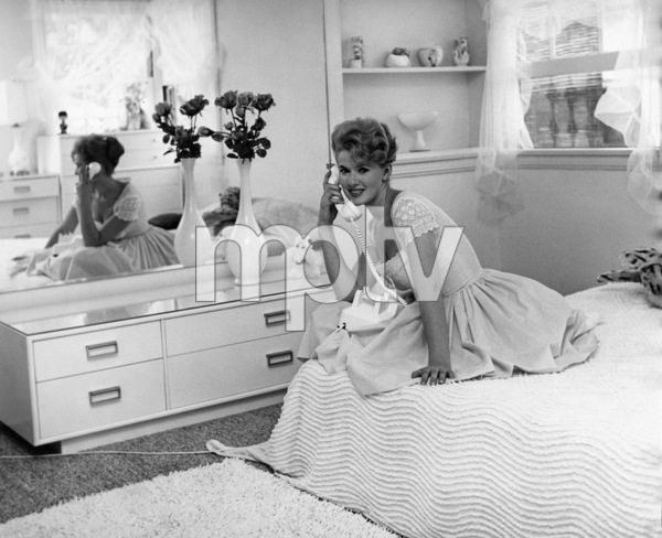 Connie Stevens in her bedroomcirca 1960sPhoto by Joe Shere - Image 0658_0160