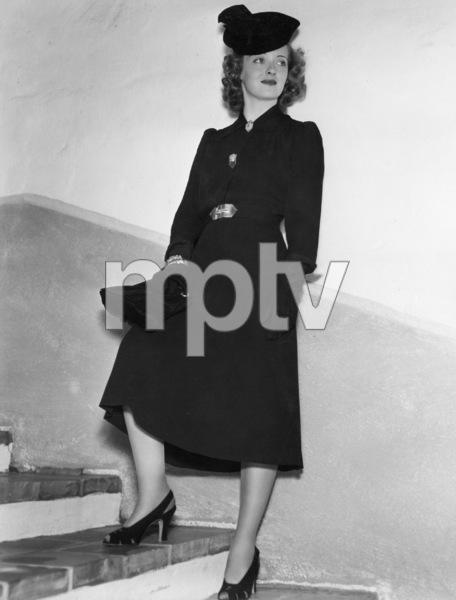 """Bette Davis publicity still for""""Dark Victory""""1939 / WarnerPhoto by Scotty Welbourne - Image 0701_0293"""