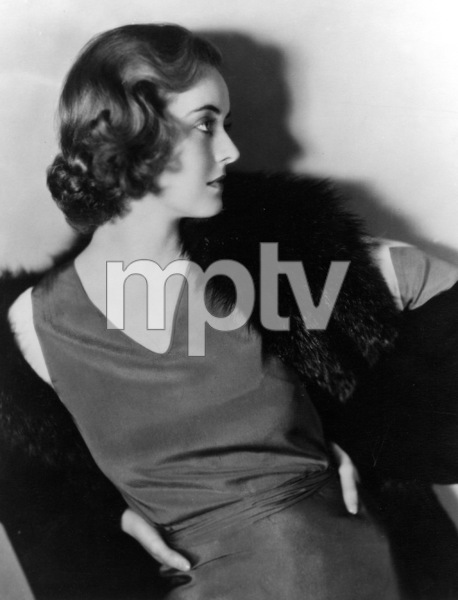 """Bette Davis, portrait shot duringthe filming of her second film """"Seed"""" 1932.Photo by Jack Freulich - Image 0701_0316"""