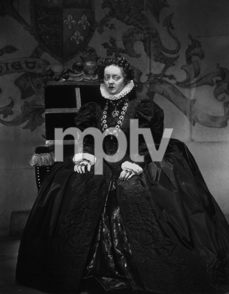"Bette Davis as Queen Elizabeth I in ""Private Lives of Elizabeth and Essex""1939 Warner BrothersPhoto by Bert Six - Image 0701_0673"