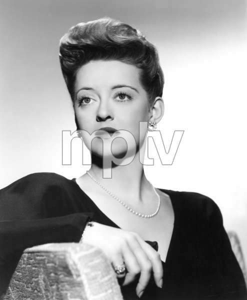 "Bette DavisPublicity photo for ""Now Voyager"" 1942.Photo by Bert Six - Image 0701_0804"