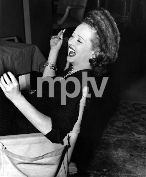 "Bette Davis on the set of""June Bride,"" 1948.Photo by Morgan - Image 0701_1360"