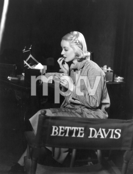 "Bette Davis on the set of""Fashions of 1934""1934 / **R.C. - Image 0701_2181"