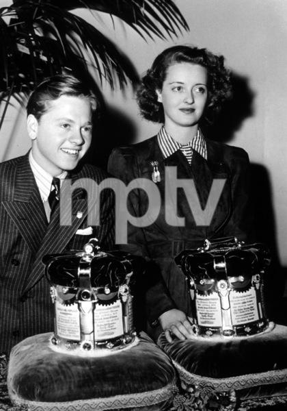 Bette Davis and Mickey Rooney,c. 1938.**I.V. - Image 0701_2201