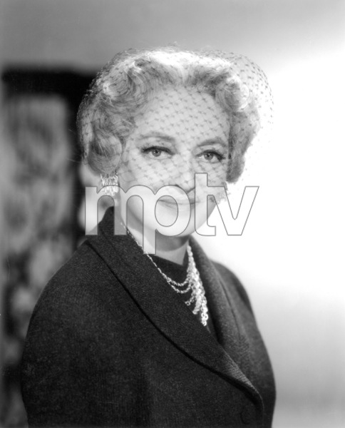 "Bette Davis publicity photo for""Where Love Has Gone,"" 1964.Photo by Mal Bulloch / **J.S. - Image 0701_2210"