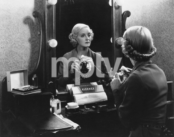 Bette Davis at dressing table, photo  by Homer Van Pelt, 1935, I.V. - Image 0701_2237