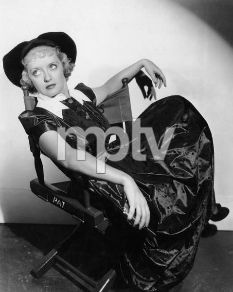 Bette Davis in director