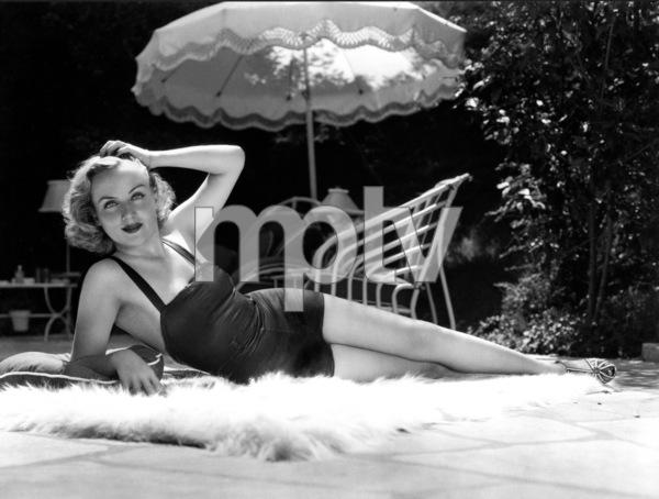 Carole Lombard, c. 1938.**I.V. - Image 0705_0531