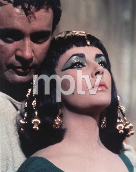 """Cleopatra""Richard Burton, Elizabeth Taylor1963 20th Century Fox - Image 0712_2003"