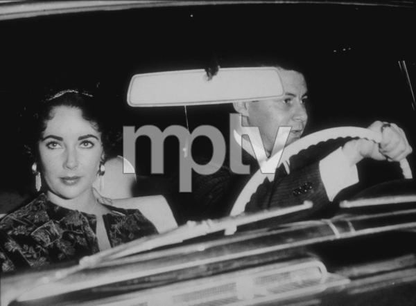 Elizabeth Taylor and Eddie FisherC. 1961 © 1978 Bud GrayMPTV - Image 0712_2204