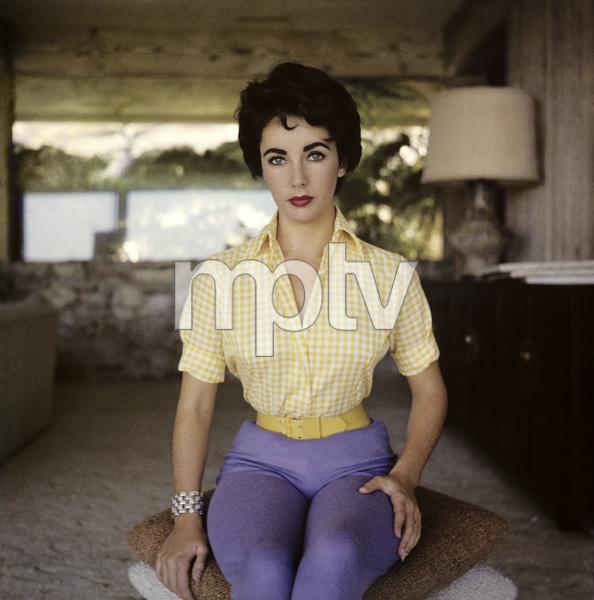Elizabeth Taylor circa 1956 © 1978 Sanford Roth/AMPAS - Image 0712_5276