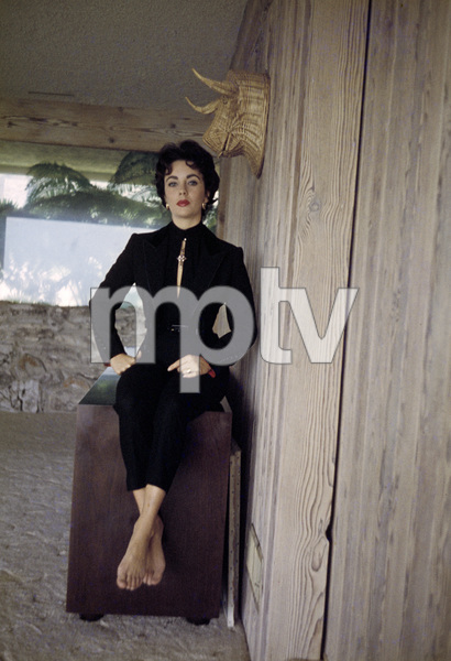 Elizabeth Taylor at her Beverly Hills homecirca 1956© 1978 Sanford Roth / A.M.P.A.S. - Image 0712_5318