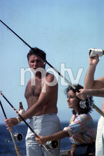 Elizabeth Taylor and Richard Burtoncirca 1960s© 1978 Gunther** J.C.C. - Image 0712_5323