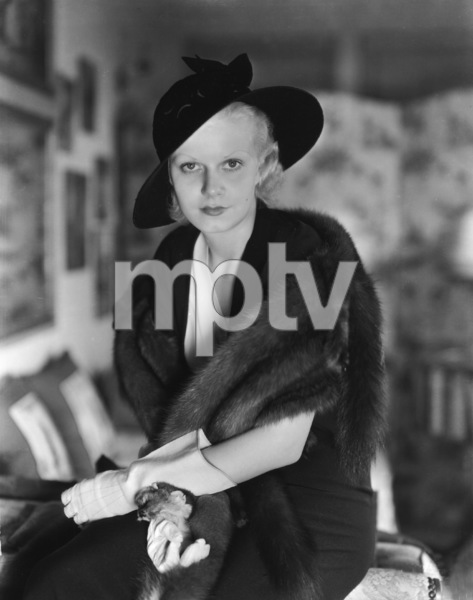 Jean Harlow1932Photo by C.S. Bull**I.V. - Image 0716_1189