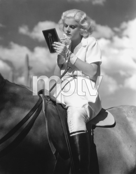 "Jean Harlowon the set of ""Bombshell""1933**I.V. - Image 0716_1209"