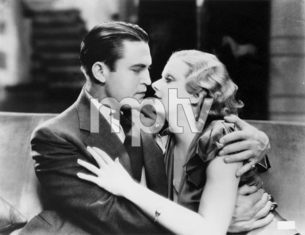 """Chester Morris and Jean Harlow in """"Red Headed Woman""""1932 MGM** I.V. / M.T. - Image 0716_1286"""