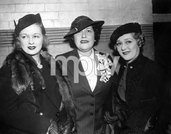 Joan Bennett, Louella Parsons and Mary Pickford 1936** I.V. - Image 0718_1149