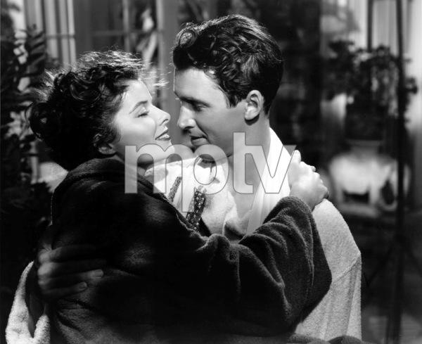 "Katharine Hepburn, James StewartFilm Set""Philadelphia Story, The"" (1940)MGM / **I.V. - Image 0722_1005"