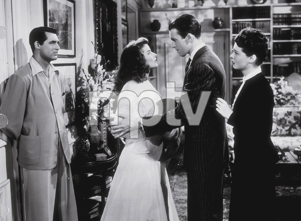 "Katharine Hepburn, James Stewart, Cary Grantin ""The Philadelphia Story""1940 MGM - Image 0722_1008"