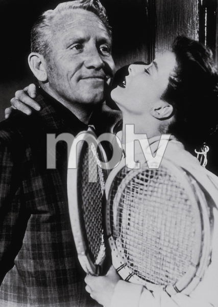 """Katharine Hepburn and Spencer Tracy in""""Pat & Mike""""1952 MGM - Image 0722_1051"""