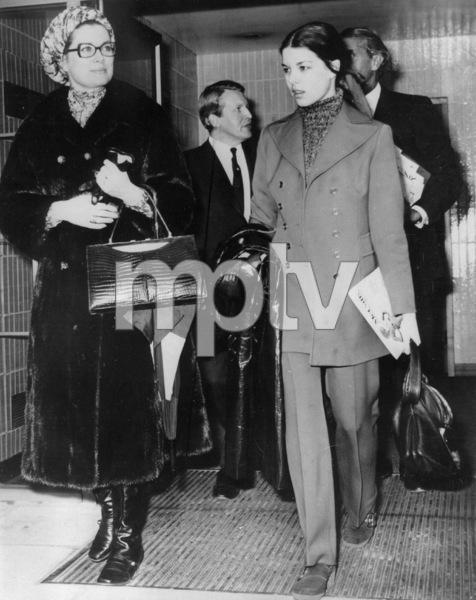 Grrace Kelly and daughter Princess Caroline, 1971. - Image 0724_0203