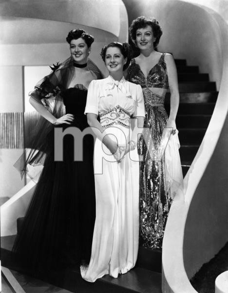 Joan Crawford, Norma Shearer and Rosalind Russellcirca 1945 - Image 0728_0026