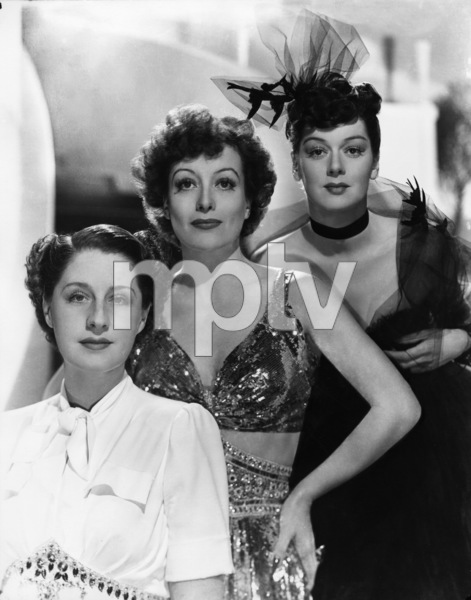 Joan Crawford, Norma Shearer and Rosalind Russellcirca 1945 - Image 0728_0027